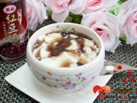 紅豆牛奶凍「泰山紫米紅豆」