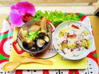 黑蜆蒜頭雞湯