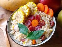 臘腸玉米炊飯(電鍋版)