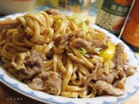 滑蛋牛肉炒麵