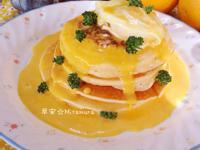 水波蛋鬆餅(佐荷蘭醬)