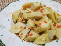 鹹蛋綠竹筍