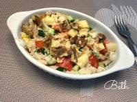 夏日輕食 - 馬鈴薯雞蛋鮪魚沙拉