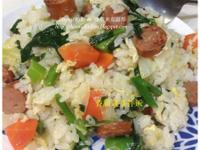 香腸蔬菜拌飯