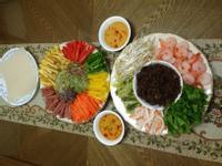 韓風越南春捲餐~大伙餐桌動手做樂趣多