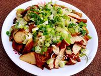 簡易滷豆干vs麵腸