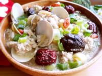 豬肉蛤蜊紅棗蓮子粥