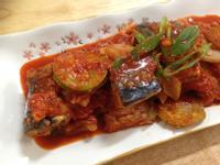 韓式泡菜醬燒鯖魚고등어김치찜