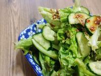 涼拌生菜小黃瓜상추오이무침