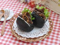 ♡日本閒妻超簡單薑燒牛肉飯團♡