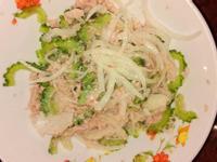 涼拌洋蔥鮪魚山苦瓜