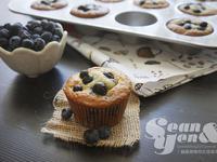 藍莓優格馬芬蛋糕,酸甜健康好滋味 ♥♥♥