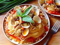 蕃茄蛤蠣義大利麵