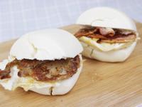 簡單的饅頭料理早餐