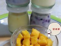 芒果藍莓鮮奶酪~純鮮奶不加鮮奶油版