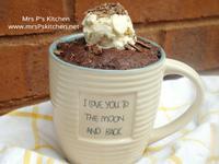 微波爐三分鐘-馬克杯巧克力蛋糕