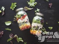 彩虹罐裝沙拉,帶得走的健康輕食 ♥♥♥