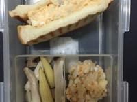早餐帶便當-馬鈴薯蘋果蛋沙拉三明治