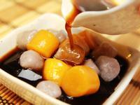 薑蜜仙草芋圓蕃薯圓