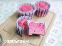 寶寶食譜【火龍果杯子蛋糕】