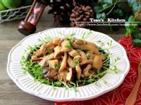 鮮菇暖沙拉