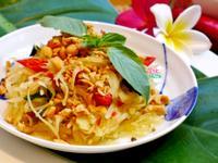 泰式涼拌青木瓜絲