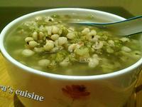 冰糖綠豆薏仁湯