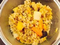 【苡璉私廚-愛妻便當】南瓜香菇蒟蒻炊飯
