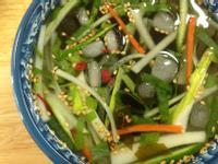 韓式小黃瓜海帶冷湯오이미역냉국