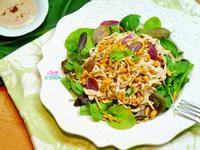 咖哩優格醬佐雞肉沙拉