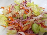 紅洋蔥鮪魚沙拉