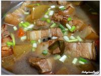 (家常菜食譜 )好下飯之【蘿蔔燒豬肉】