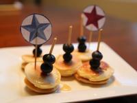 Pancake-藍莓水果鬆餅薄煎餅