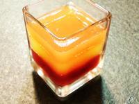 果汁三色凍