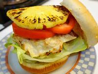 **超Juicy超正~♥夏威夷雞肉漢堡♥
