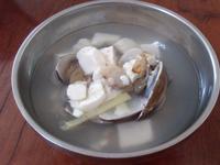 蛤蜊豆腐柴魚湯