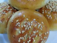 紅豆奶酥醬餐包~中種甜麵包