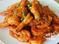 蒜味茄汁蝦