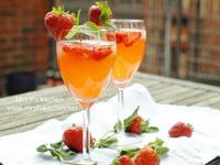 自製草莓檸檬水