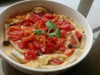 番茄滑蛋豆腐煲