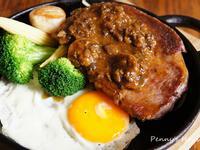 夜市牛排-蘑菇醬牛排