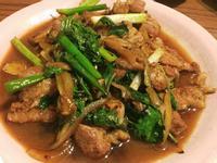 塔香炒肉片
