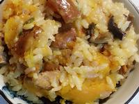 南瓜燜飯~電子鍋版