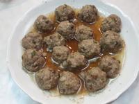 破布籽蒸蔥肉丸(懶人料理)