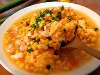 鮮蝦玉米滑蛋
