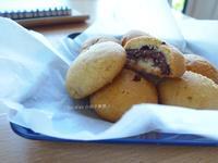 香草餅乾與榛果巧克力夾心