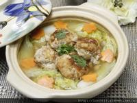 鮭魚豆腐丸子燴娃娃菜