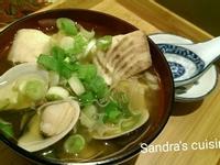 蛤蜊鯛魚味噌湯