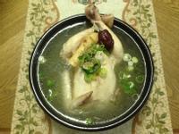 正宗韓式蔘雞湯(삼계탕)