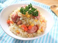 香腸玉米奶油燉飯『快鍋就用樂鍋史蒂娜』